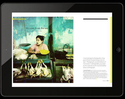 Snap il magazine per iPad