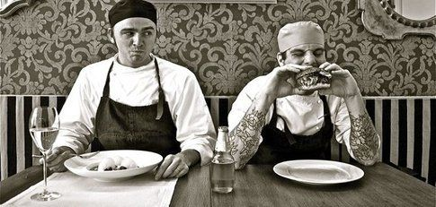 "chef rockstar e street food per ""Le Grand Fooding 2012"""