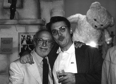 Adriano Pintaldi e Alberto Ravaglioli, direttori del Fantafestival