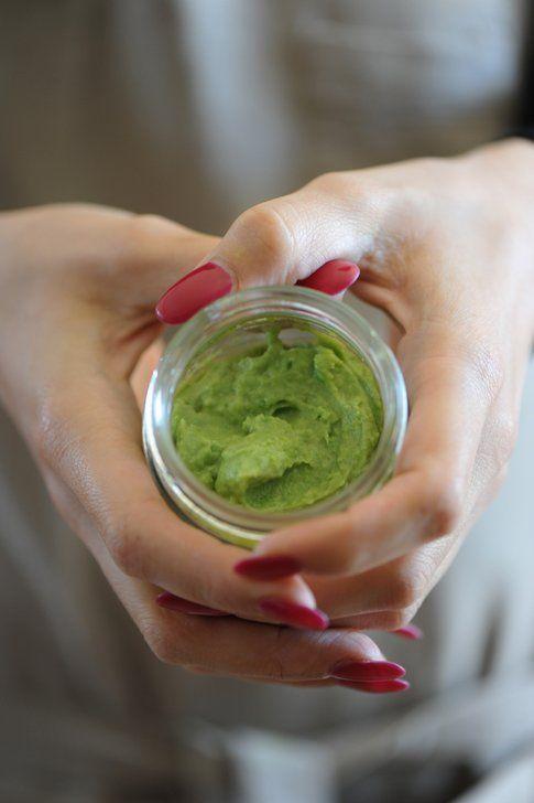 Mousse verde, credo avocado! (foto di giulia)
