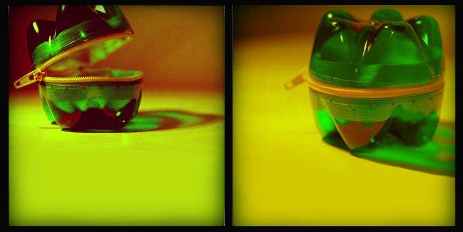 Lampade fatte con bottiglie di vetro ~ idee di design nella vostra casa
