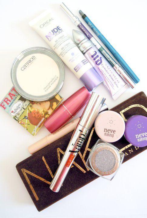 I prodotti utilizzati per questo make up