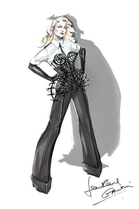 il disegno di Jean Paul Gautier
