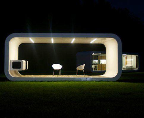 Coodo: la veranda di notte