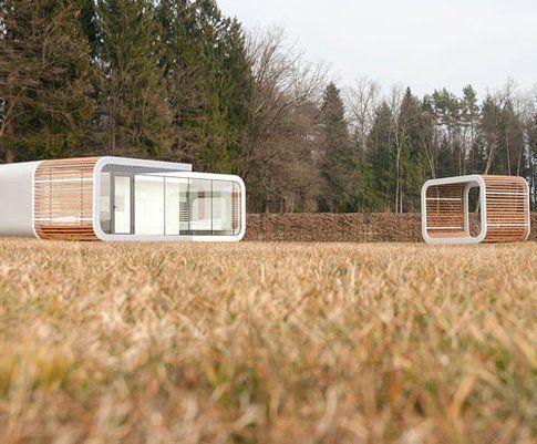 Coodo: i moduli abitativi sono progettati e posizionati in modo personalizzato
