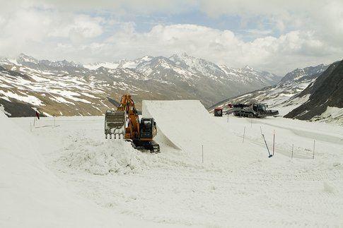 Lavori in corso nello snowpark