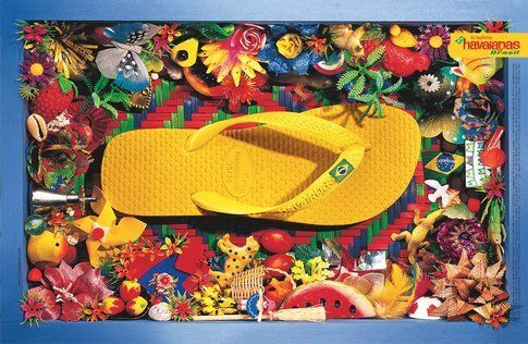 Havaianas made in Brazil