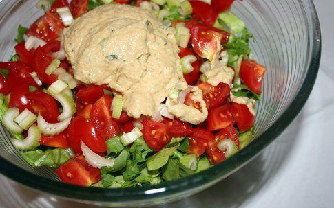 insalata pronta da condire