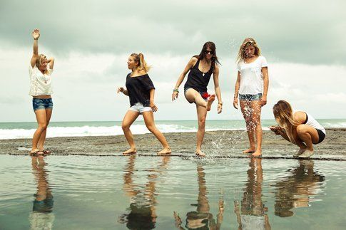 Costa Rica, surf trip al femminile