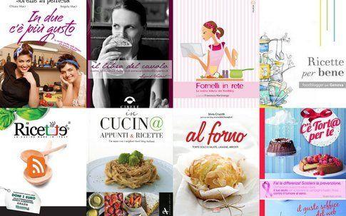 alcuni dei libri scritti o fatti in collaborazione di foodblogger