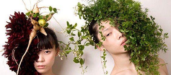 Cappelli floreali: le sculture estemporanee di Hanayuishi Takaya