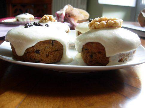 muffin dolci vegan con top di frutta secca di gioia
