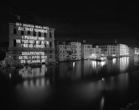 Jenny Holzer - Blur, Venezia 2003