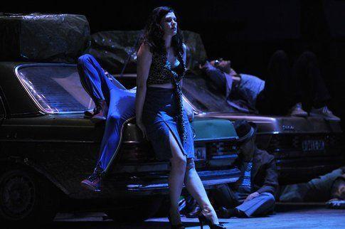 Una scena di Carmen