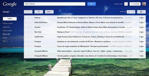 Personalizza il tuo tema di Gmail