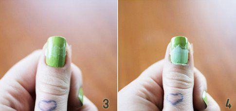 Step 3 e 4: applica i vari colori