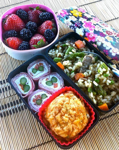 cheese & vegetable bento fatti da Marzia