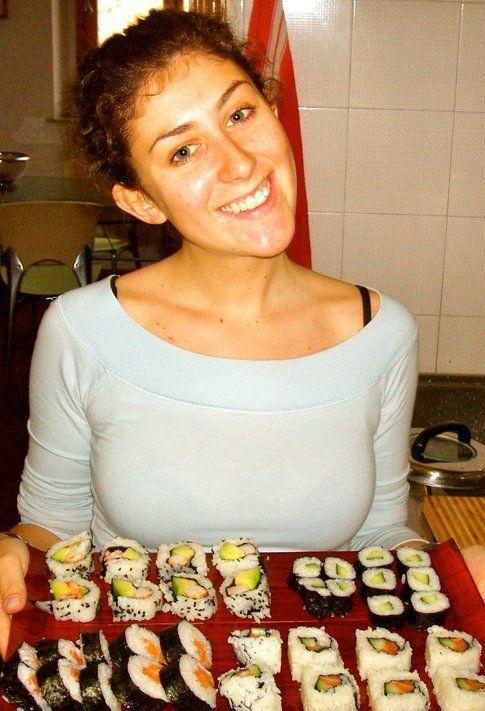 marzia e la sua passione.. la cucina giapponese!
