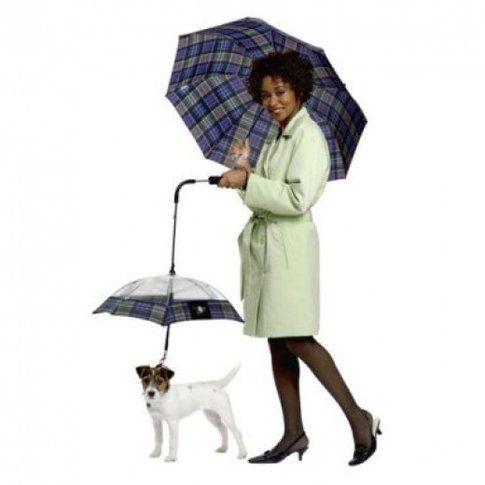 Ombrello guinzaglio per cani