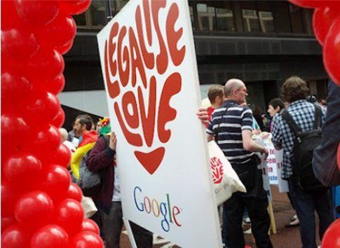 Google Legalise Love