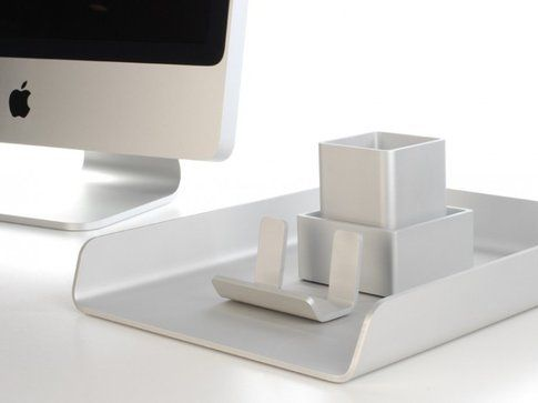 Deskology accessori per la scrivania in stile mac bigodino for Accessori scrivania design