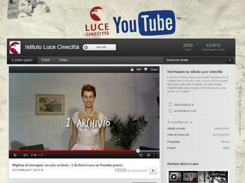La storia Italiana disponibile su You tube