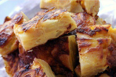 pezzettoni di tortilla