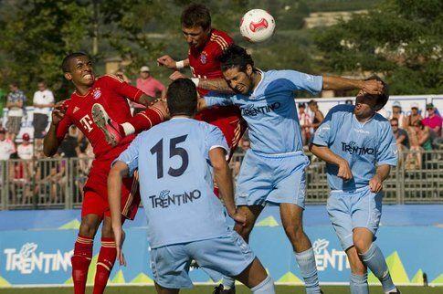 Amichevole contro la rappresentante del Trentino