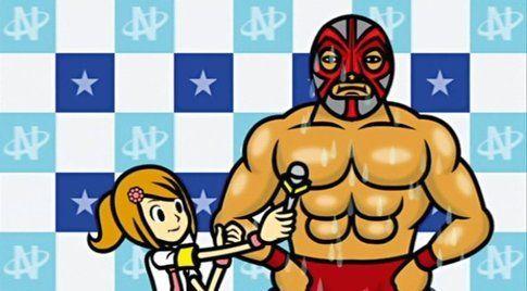 Intervista al wrestler