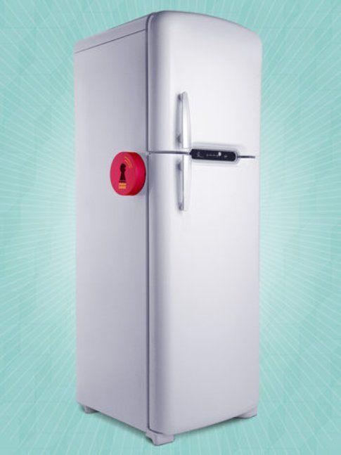 Virtual Fridge Lock