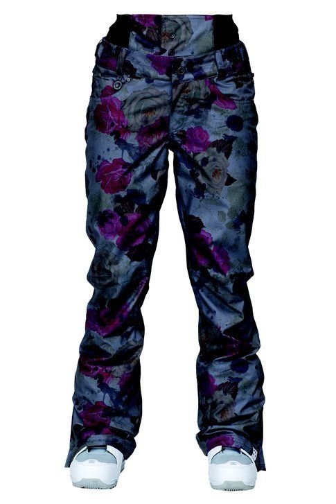 Pantaloni da snowboard Torah Birchprinted