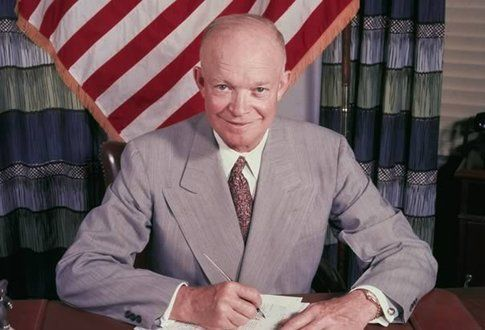Il presidente Eisenhower che sarà interpretato da Williams