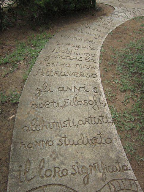 Un dettaglio del sentiero - Foto di Simona Forti