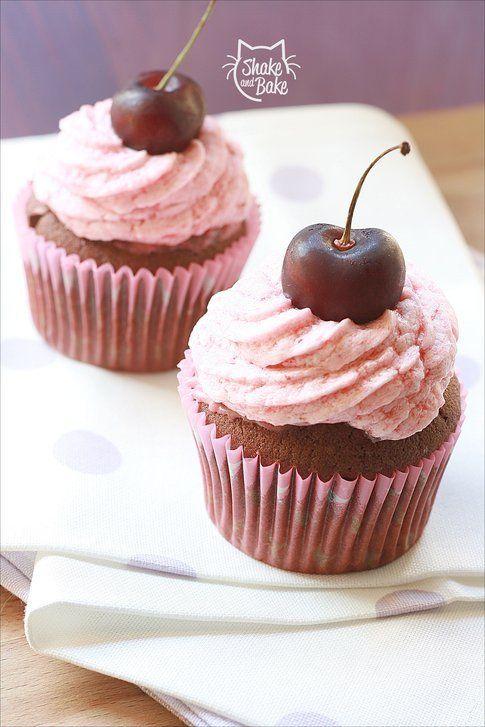 cupcakes cherry cola di gaietta (shake&bake)