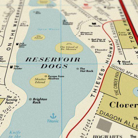 Film Map di Dorothy