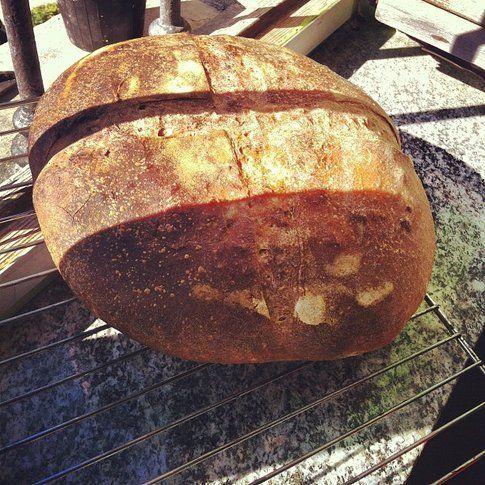 una pagnotta di pane realizzata da ci_polla