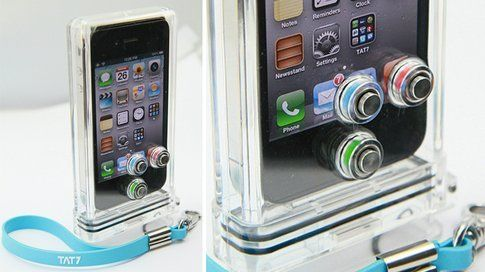 iPhone Scuba Case by TAT7