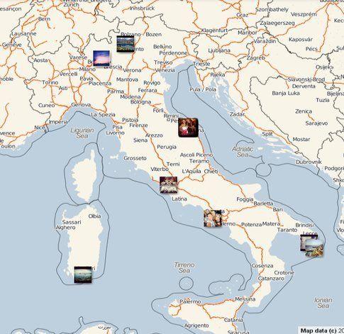 Streetgram, servizio utilizzabile via web