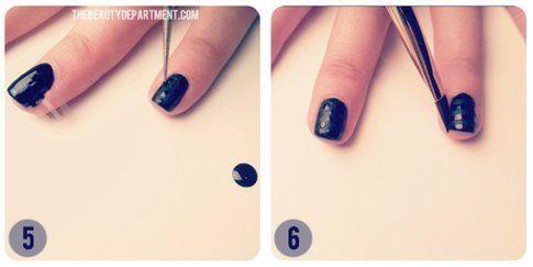 Quinto e sesto step: crea i dot e lascia asciugare!