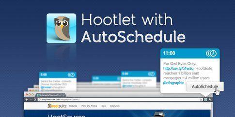 Hootsuite: funzione Autoschedule dei post