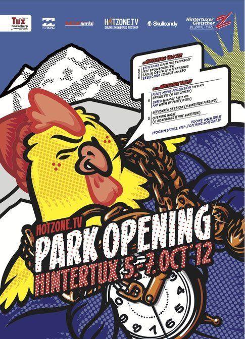 Hotzone Park Opening a Hinterux dal 5 al 7 ottobre