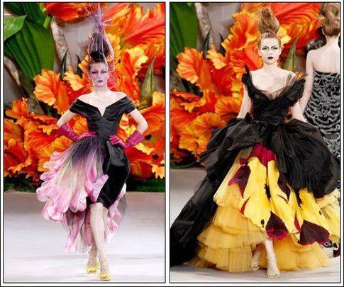 gli abiti di Dior