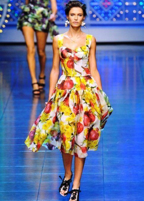 Bianca Balti in Dolce e Gabbana