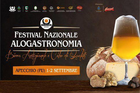 Locandina Festival Alogastronomia, Apecchio
