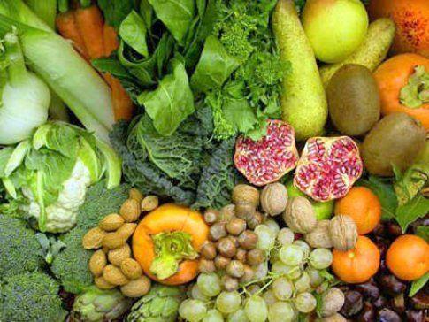 mix frutta e verdure di settembre