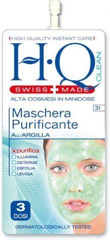 Maschera purificante all'argilla -  HQ cosmetici