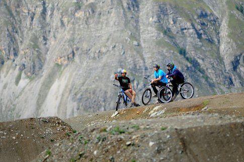 Downhill a Livigno