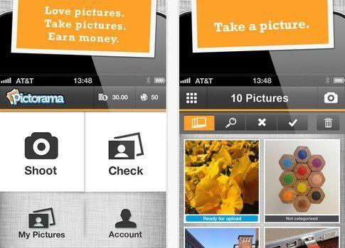 Pictorama - vendi le tue foto con una App