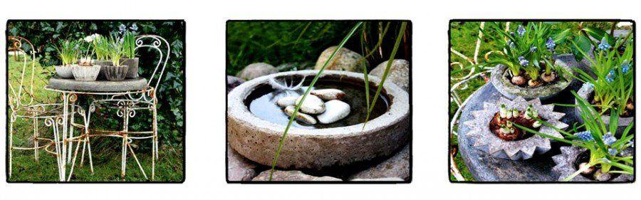 Fai da te vasi in cemento per il tuo giardino bigodino - Crea il tuo giardino ...