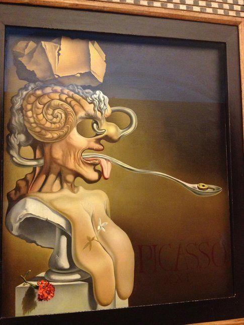 Ritratto di Pablo Picasso  - Foto di Simona Forti